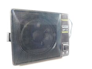 Yaesu SP-4 External Speaker with Noise Filter Original Box (tested working)