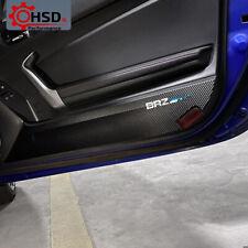 PVC Leather Car Door Panel Anti Kick Cover Protect For Subaru BRZ Toyota 86 GT