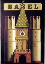 Original Plakat - Basel, Niklaus Stoecklin