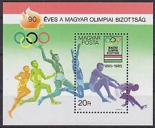 Mint Never Hinged/MNH Olympics Sheet Hungarian Stamps