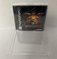 Mortal Kombat 4 (Sony PlayStation 1, 1998) PS1 SEALED! READ!