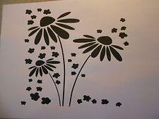 Schablone Blumen9 auf A4