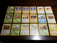 Pokemon Jungle Lot of 35 Cards - 25 Different Pikachu + 1st Edition Tauros!