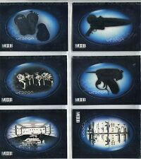 The Men In Black II Complete Weapons Overview Chase Card Set W1-6