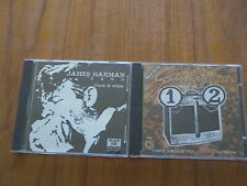 James Harman - 2 CDs - Two Sides to Every Story and Black & White - Blues.