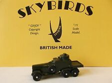 Skybirds. Lanchester Armoured Car