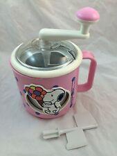 Vintage PINK Snoopy Ice Cream Maker DONVIER LAND