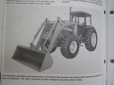 John Deere 265 Farm Tractor End Loader Operators Manual