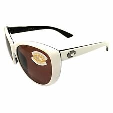 41f03c85455c4 NEW Costa Del Mar La Mar Sunglasses - White Topaz - POLARIZED Copper 580P