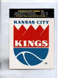1979-80 FLEER KANSAS CITY KINGS STICKER