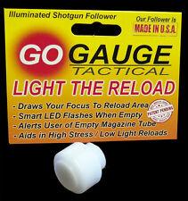 Go Gauge Smart LED 12g Shotgun Follower  Mossberg, Remington, Maverick, Kel-Tec