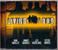 LIVING LOUD Self Titled Jimmy Barnes Steve Morse Bob Daisley Lee Kerslake   CD