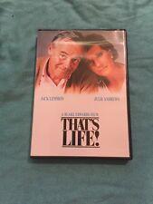 THAT'S LIFE! DVD JACK LEMMON JULIE ANDREWS