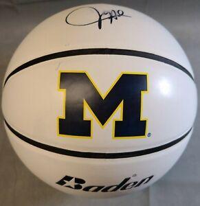 Juwan Howard signed Michigan Wolverines Baden Auto Basketball Coach Fab5 ~ Used