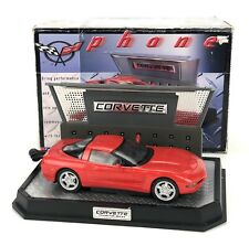 1997 PF PRODUCT CHEVROLET Corvette Telephone (Red) LIGHTED BASE In Box