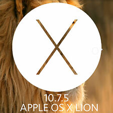 Mac OSX lion 10.7.5 Installer Bootable USB OS X macbook Pro Air iMac mini repair