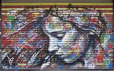 120cm SUPER SIZE CANVAS STREET ART GRAFFITI PRINT  urban BANKSY london painting