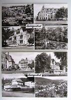 2x DDR Postkarte von Georgenthal Kr. Gotha Thüringen s/w Ansichtskarten ungel.