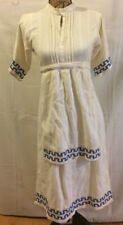 Apron Front Flap Dress Period Native Made In Greece Pageant Costume Photo Prop