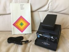 Rare Black Polaroid SX-70 Alpha 1 SE Instant Camera-Fully Tested&Working-Great