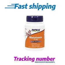 Now Foods Melatonin 3mg (60 vegane Kapseln)