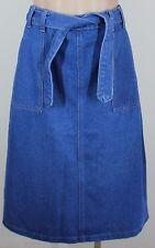 Sassy BNWT PAPER SCISSORS Medium Blue Denim Skirt rrp $35.99 - Size 8
