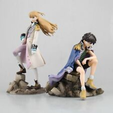 Gundam Wing Heero Yuy & Relena Alpha Omega 2pcs Set 15~20cm New No Box