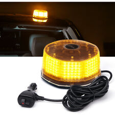 XPRITE Amber Sunbeam 240 LED High Intensity Strobe and Rotating Beacon Light