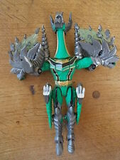 Vintage 2005 Bandai PowerRangers MINOTAUR DRAGON Green Action Figure
