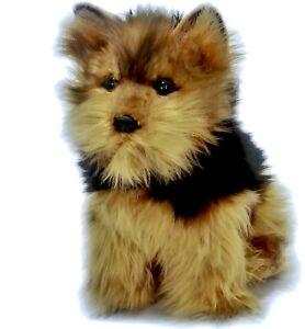 Yorkshire Terrier Plush Stuffed Soft Toy Dog 24cm Archie by Bocchetta