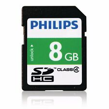 Philips 8GB SD High Capacity Memory Card Class 4