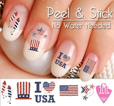 Fourth of July Nail Decal Sticker Set 4TH901
