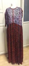 KENZO X H&M Kleid Maxikleid Seide dress silk Größe size S neu new