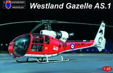 Kovozavody Prostejov 1/48 Westland Gazelle AS.1 # 4812