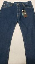 NWT Levis Premium Mens 36x38 501 Button Fly Jeans Size Stretch Big E Red Tab