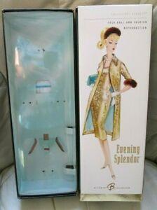 "NEW *BARBIE*~""EVENING SPLENDOR""~REPRO EMPTY BOX+LINER~1959 Doll+Fashion~MINT BOX"