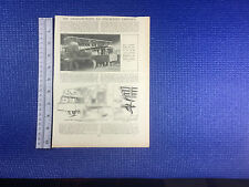 Grahame-White E-8 Nine Seater Limosine drawings early commercial aeroplane