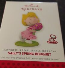 2014 Hallmark Happiness is all year long Sally's Spring Bouquet Ornament NIB NEW