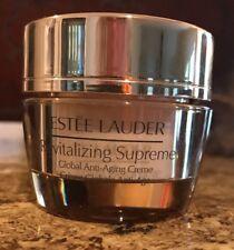 New Estee Lauder Revitalizing Supreme Global Anti-Aging  Creme .5oz/15mL