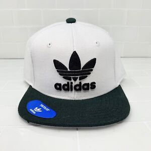adidas Originals Trefoil Patched Youth Kids Snapback Hat Cap - $24