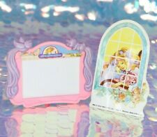 Lady Lovely Locks PixieTails PICTURE FRAME & STICKER with SilkyPup Vintage BE949