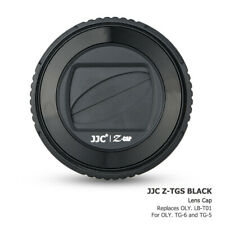 JJC Rotates Black Lens Cap for Olympus TG-6 TG-5 TG6 TG5 Replaces Olympus LB-T01