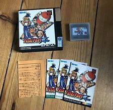 Fatal Fury First Contact - UK/ Euro CIB + 3 Anleitungen - Neo Geo Pocket Color