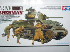 TAMIYA 1/35 U.S. MEDIUM TANK M4A3 Sherman 75 mm pistola in ritardo PRO MODELLO TANK KIT #35250