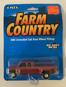 ERTL Farm Country GMC Extended Cab Dual Wheel Pickup NEW IN PACKAGE 1995
