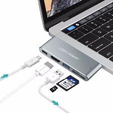 HUB Adaptateur Aluminium USB Type C pour Apple MacBook Pro 33 cm / 38,1 cm 16/17