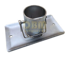 """A Frame Galvanized Jack Foot Plate Pin 5k Trailer Marine Boat 5,000 LBS 2"""" Tube"""