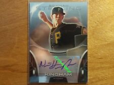 NICK KINGHAM 2013 STERLING AUTOGRAPH AUTO ROOKIE RC PITTSBURGH PIRATES HOT! ]{