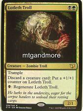 Magic Commander 2015 - 1x Lotleth Troll