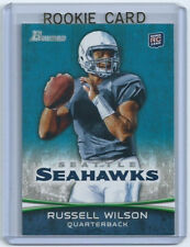 RUSSELL WILSON Seahawks 2012 Bowman Rookie Card #116 SP RC Retail Only Product